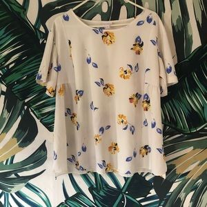 Isabel Floral Maternity Top